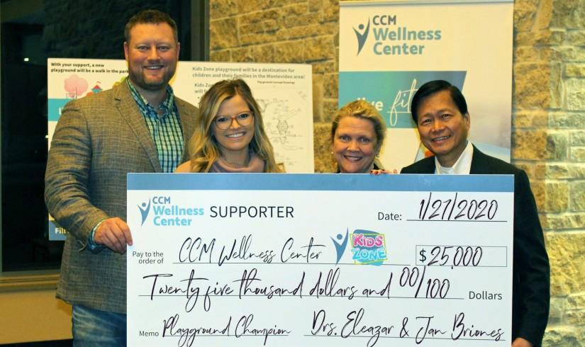 CCM Health - Drs. Briones Kids Zone Donation